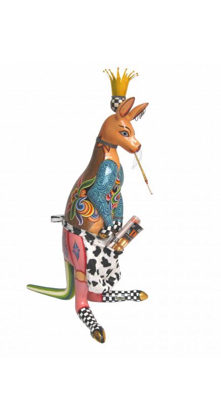Toms Drag Kangaroo SKIPPY Sculpture-20