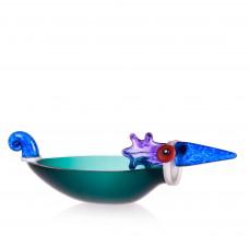 ENTE  BIG  Bowl  Glass Art