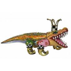 Alligator Sculpture FRANCESCO XL