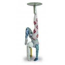 Candle Holder NAMASTE Handstand
