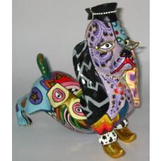 LITTLE MR BARCLEY Dog figure