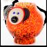Borowski Vase Glass Art PIG-024