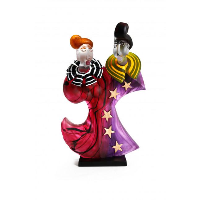 Borowski Escultura de cristal DANCERS-36