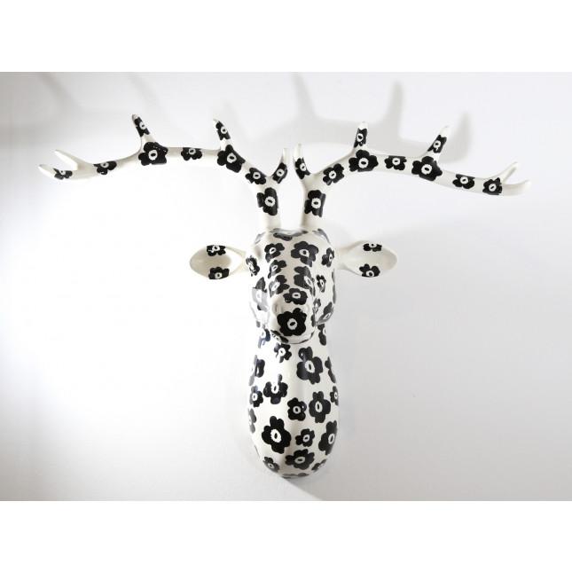 Pomme pidou Figura Ciervo de pared NELSON Poppy Prety-314