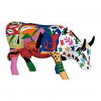 Cow Parade Vaca A LA MOOTISSE M-20