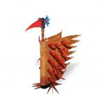 Borowski Escultura de cristal y metal FIREBIRD Pequeño-20