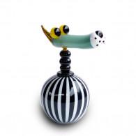 Fernando Agostinho Escultura FLACON de arte en cristal-20
