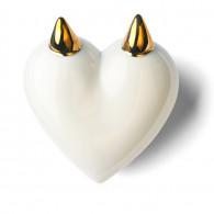 DenzHerz Corazón de porcelana FAUN-20
