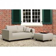 Fink CARLO Sofa para exterior 2 asientos Taupe-20
