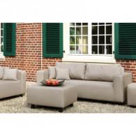 Fink CARLO Sofa para exterior 3 asientos Taupe-20