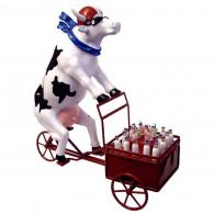 Cow Parade Vaca LAIT TRIPORTEUR M-20