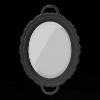 Qeeboo Espejo Negro-20