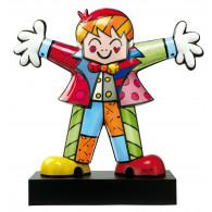 Romero Britto Figura de Porcelana ABRAZO FUERTE 15,5 cm-20