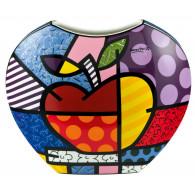 Romero Britto Jarrón de Porcelana MANZANA-20