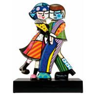 Romero Britto Figura de Porcelana CARA A CARA-20