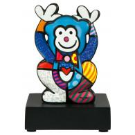 Romero Britto Figura de Porcelana MONO AZUL 13,5cm-20
