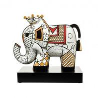 Romero Britto Figura de porcelana Great India 3 ELEFANTE-20