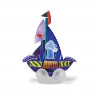 Borowski Escultura de cristal SAILOR Violeta-20