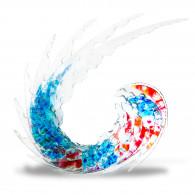 Jurgen CHAUMARAT Déferlante Bleu de Cristal-20