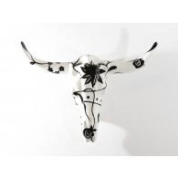 Pomme pidou Figura Bison de pared Black & White-20