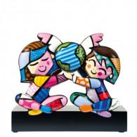 Romero Britto Figura de Porcelana CHILDREN OF THE WORLD-20