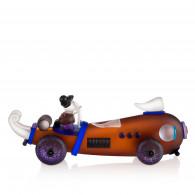 Borowski Escultura de cristal RETRO CAR Ambar-20