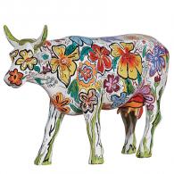 Cow Parade Vaca FLORAL-20