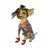 Toms Drag Figura Chihuahua sentada FRIDA L-20