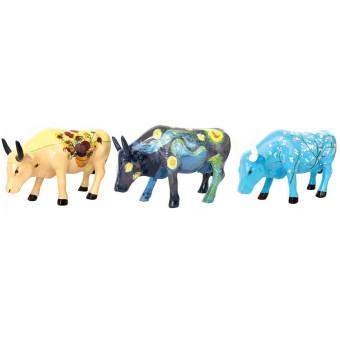 Cow Parade VACA pack 3 VAN GOGH-20