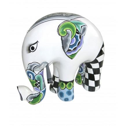 Toms Drag Elefante BLANCO L-20