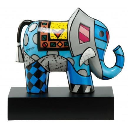 Romero Britto Figura de Porcelana GREAT INDIA 20,5cm-20