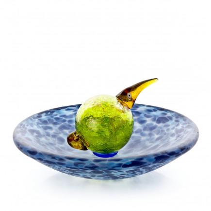 Borowski Bowl-plato de cristal BIRD BATH-20