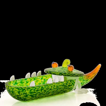 Borowski Bowl de cristal CROCODILE-20