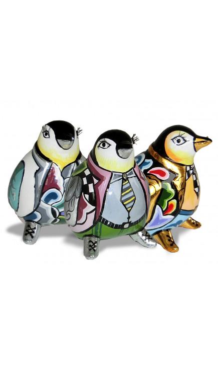 Toms Drag Set de 3 Pingüinos S-20