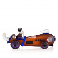 Escultura de cristal RETRO CAR