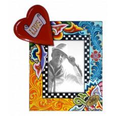 PORTA FOTOS  Corazón S 17,5 x 20,5cm